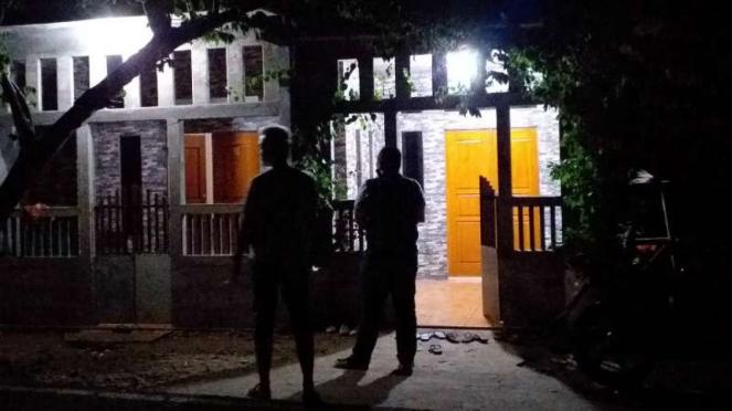 Rumah Hamdani, pria yang mengaku menjabat menteri perindustrian Negara Islam Ind