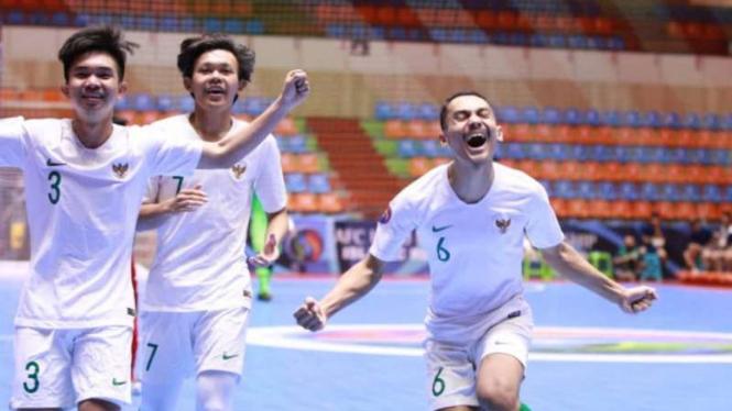 Timnas futsal Indonesia U-20.