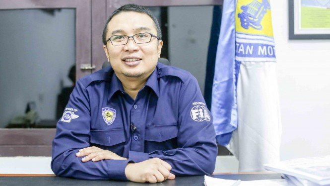 Ketua Ikatan Motor Indonesia (IMI), Sadikin Aksa