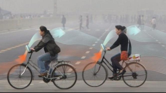 Sepeda tuk Tuntaskan Masalah Polusi Udara di Kota-Kota Besar