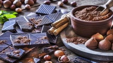 Ilustrasi cokelat.