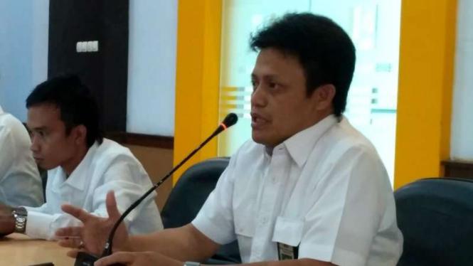 Kepala Balai Wilayah Sungai Sulawesi IV Kendari, Haeruddin C Maddi.