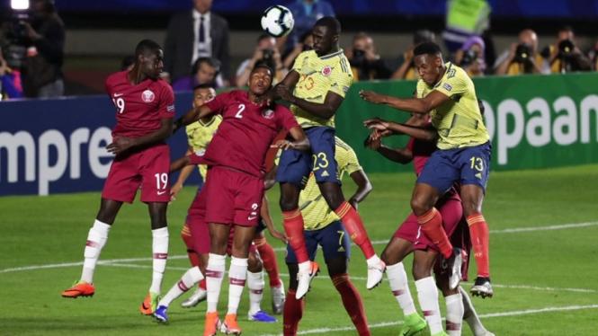 Pertandingan Timnas Kolombia vs Qatar di Copa America 2019