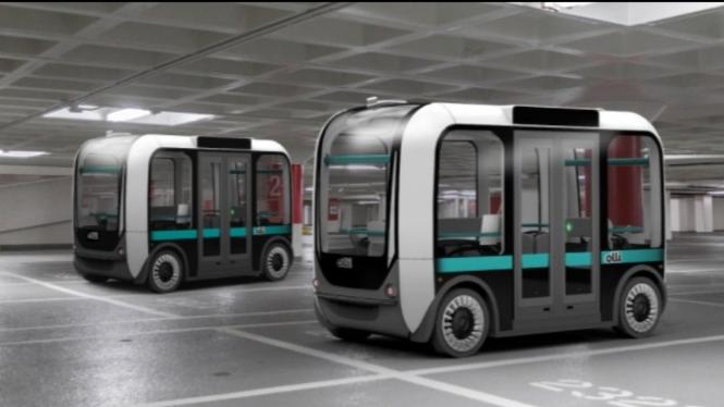 Ini Dia Keunikan dari Self-Driving Bus 3D-Printed Pertama di Dunia yang Diberi Nama 'Olli'