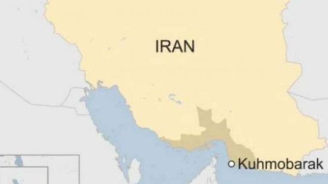 Peta Iran