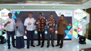 Bekraf menyelenggarakan program Derap Ekrafpreneur Hasanah Mulia (Deureuham).