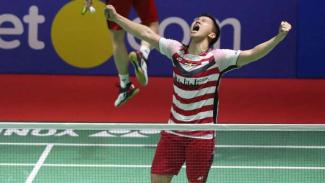 Kevin Sanjaya Sukamuljo/Marcus Fernaldi Gideon juara Indonesia Open 2018.