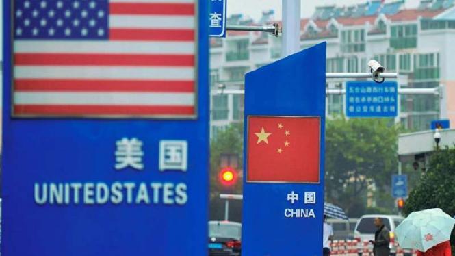 Perang Dagang AS China.