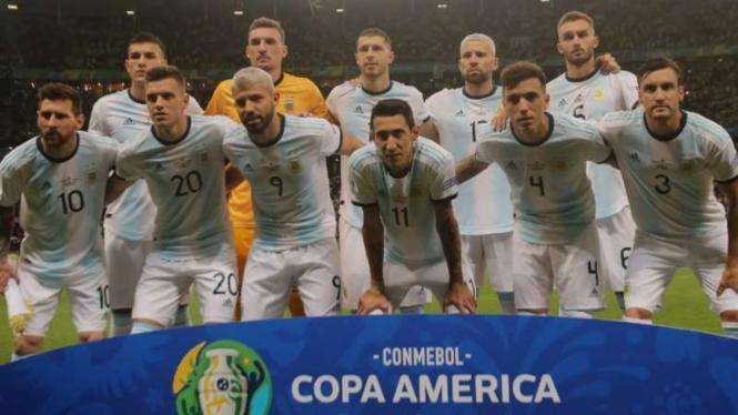 Skuat Timnas Argentina di Copa America 2019