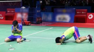 Tontowi Ahmad/Liliyana Natsir saat juara Indonesia Open 2018.