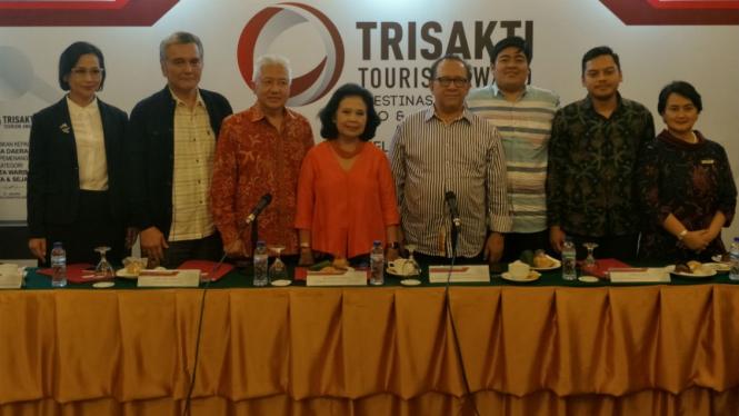 Jumpa pers Trisakti Tourism Award