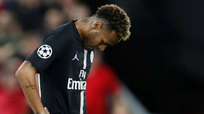 Penyerang Paris Saint-Germain (PSG), Neymar Jr.