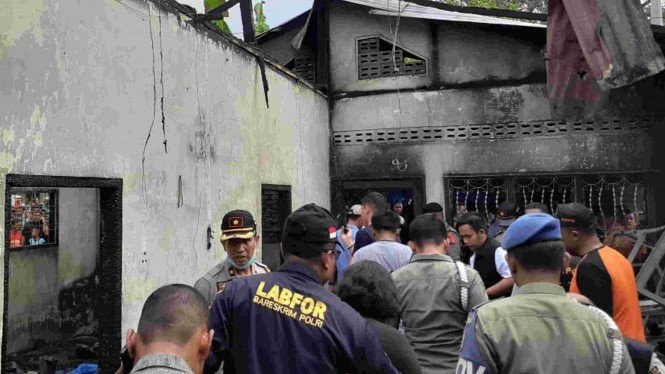 Polisi identifikasi lokasi kebakaran pabrik korek api di Kabupaten Langkat