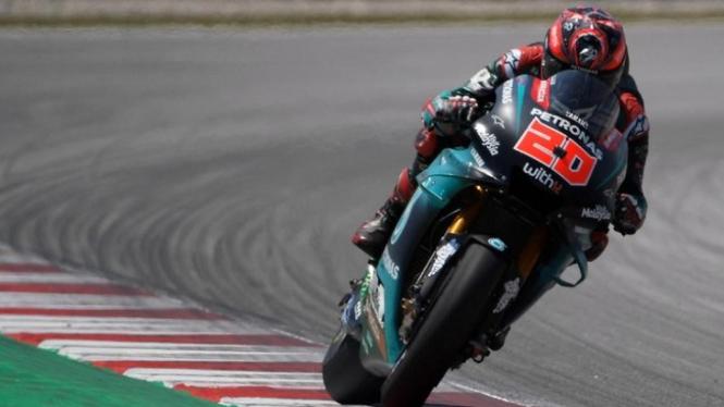 Pembalap tim Petronas Yamaha SRT, Fabio Quartararo