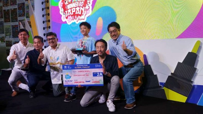 Pemenang Toyota Dream Car Art Contest Indonesia 2019.