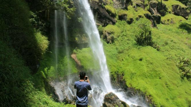 Air Terjun Tansaran Bidin di Kabupaten Bener Meriah
