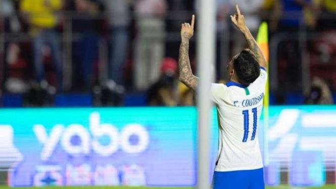 Bintang Timnas Brasil, Philippe Coutinho