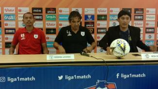Konferensi pers usai laga Liga 1, Tira Persikabo vs Persipura Jayapura