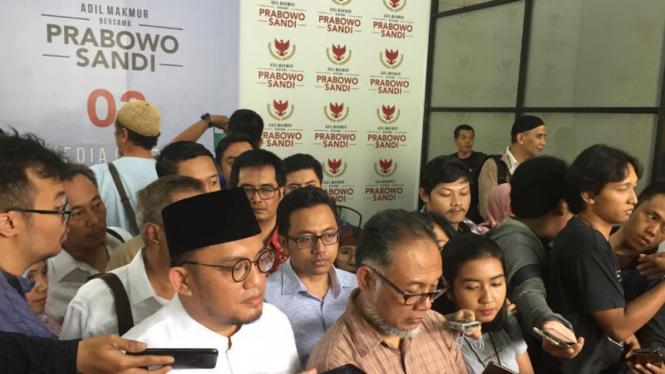 Bambang Widjojanto dan Dahnil Anzar