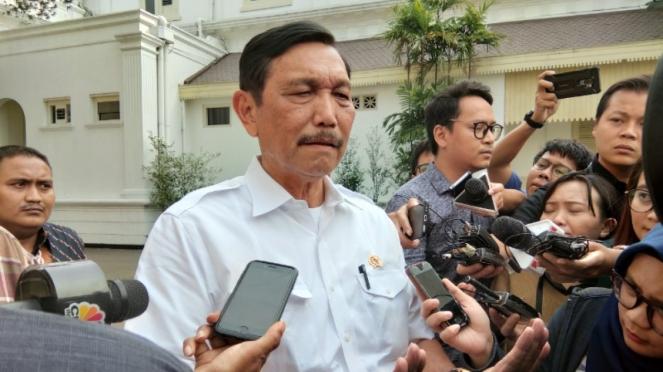 Menteri Koordinator Bidang Kemaritiman dan Investasi, Luhut Binsar Pandjaitan.