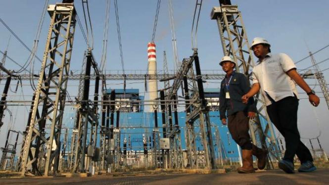 Ilustrasi infrastruktur listrik