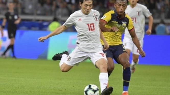 Timnas Jepang melawan Ekuador di Copa America 2019