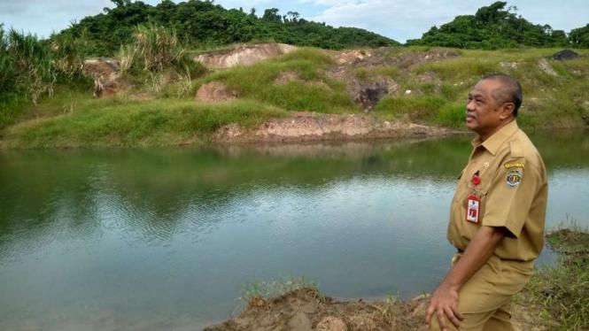 Kepala Dinas Energi dan Sumber Daya Mineral Provinsi Kaltim, Wahyu Widhi.