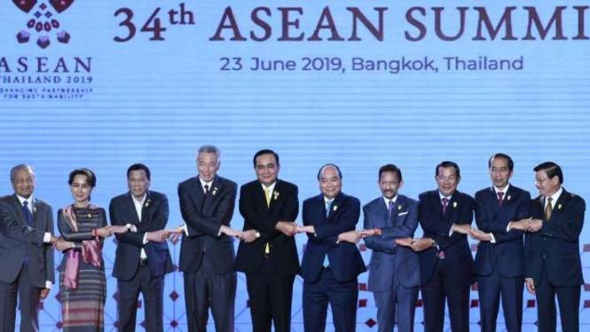 KTT ASEAN ke-34 di Bangkok Thailand
