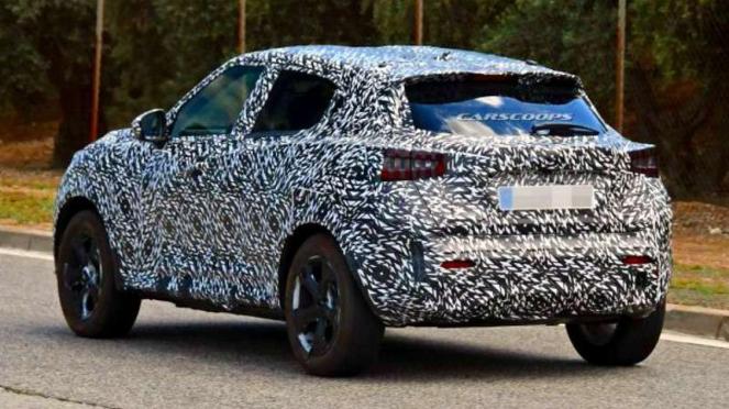 Bocoran Nissan Juke baru