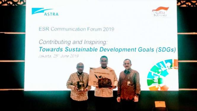 Astra dukung pencapaian SDG's.