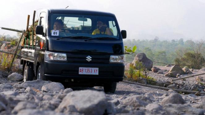 Test drive All New Suzuki Carry