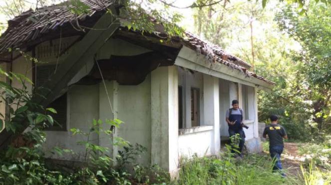 Situs karantina haji pertama Indonesia di Pulau Rubiah, Sabang, Aceh, terbengkal
