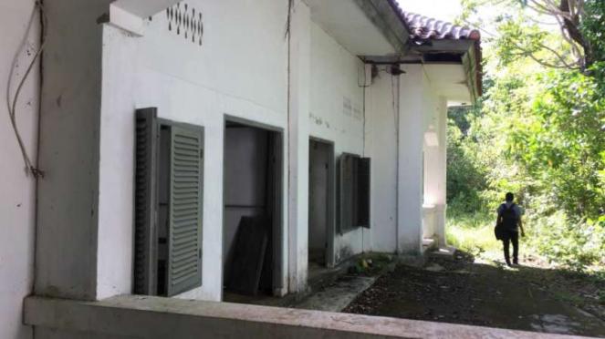 Situs karantina haji pertama Indonesia di Pulau Rubiah, Sabang, Aceh, yang terbe