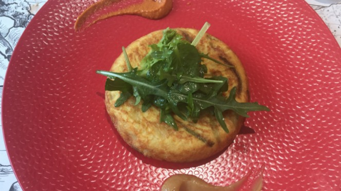 Spanish omelette, Lasao di Txoko.