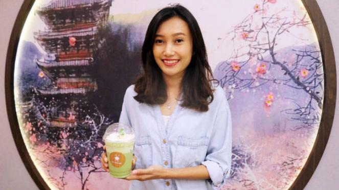 Merisha Owner Kafe Uji Matcha
