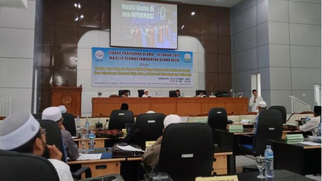 Sidang Paripurna MPU Aceh bahas gim PUBG