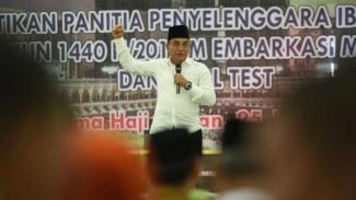 Gubernur Sumatera Utara Edy Rahmayadi.