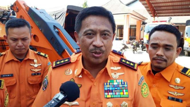 Kepala Basarnas, Marsekal Madya TNI Bagus Puruhito