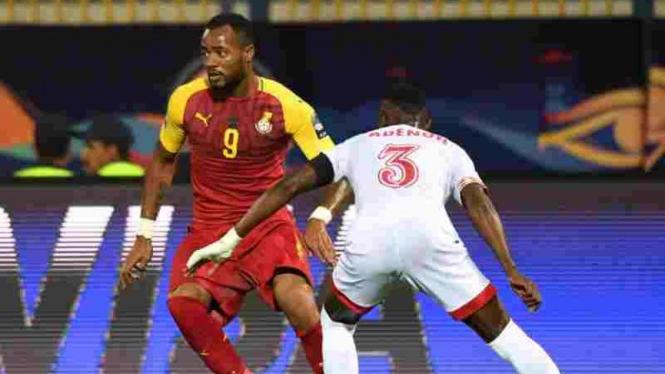 Timnas Ghana (merah) di Piala Afrika 2019