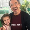 Lexi Rabe dan Robert Downey Jr.