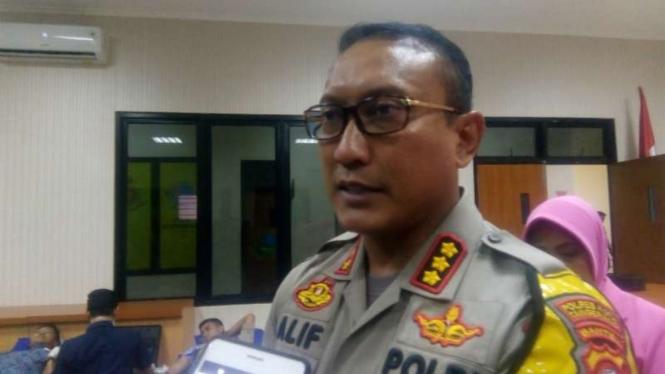 Kepala Polres Kota Tangerang Kombes Pol Sabilul Alif