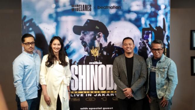 Preskon konser Mike Shinoda.