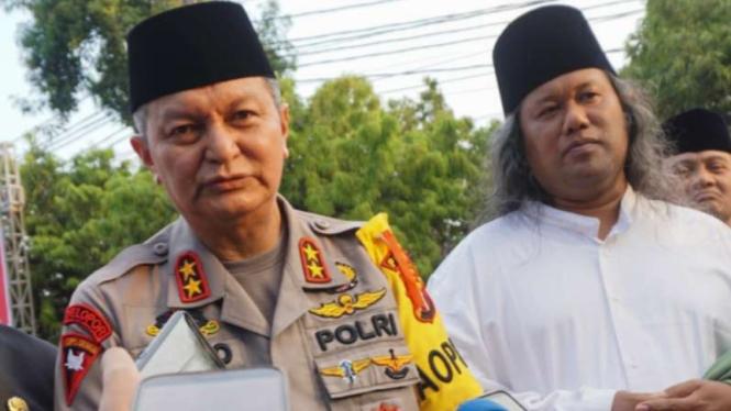 Kapolda Jawa Tengah Irjen Pol Rycko Amleza Dahniel.