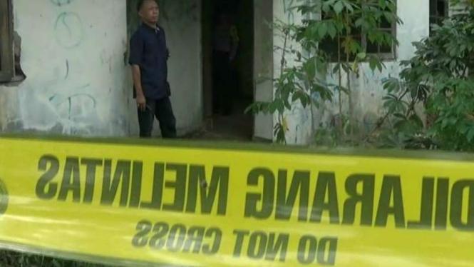 Kerangka manusia ditemukan di rumah kosong, Perumahan Vila Indah Permai, Bekasi