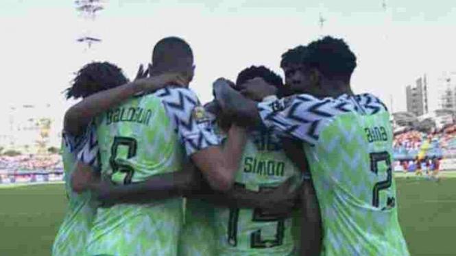 Timnas NIgeria di Piala Afrika 2019