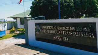 Kantor BMKG Frans Sales Lega Manggarai