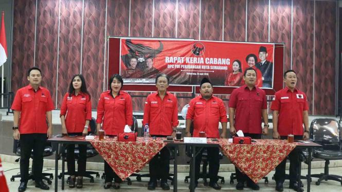 PDI Perjuangan Kota Semarang.