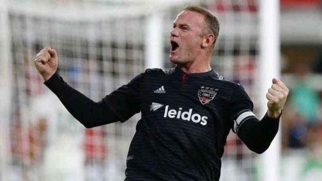 Penyerang DC United, Wayne Rooney