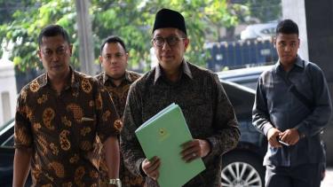 Menteri Agama Lukman Hakim Saifuddin bersaksi di sidang kasus jual beli jabatan