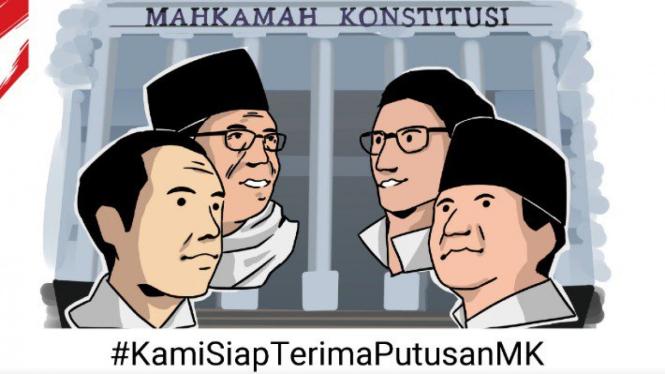 Tagar #KamiSiapTerimaPutusanMK